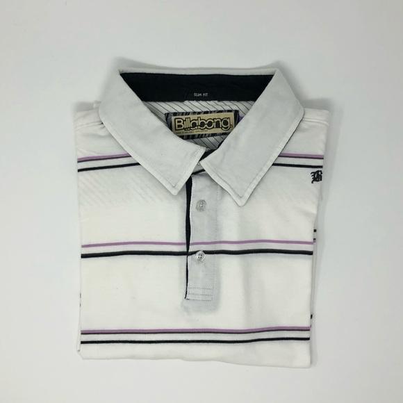 Billabong Other - Billabong Slim Fit Polo Shirt Size L